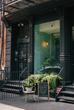 Curb appeal at deVOL's NYC showroom.