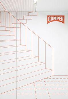 Dezeen » Blog Archive » Camper store in Lyon by Studio Makkink & Bey #arquitecture