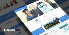 Appster - Mobile App Landing Page WordPress Theme
