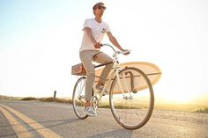Almond X Linus Summer Bike #road #sun #surfboard #bike