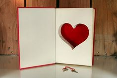 Type A Behavior & Your Heart Hollow Book Safe by hollowbookcompany #heart #red #book #hollow #love #velvet