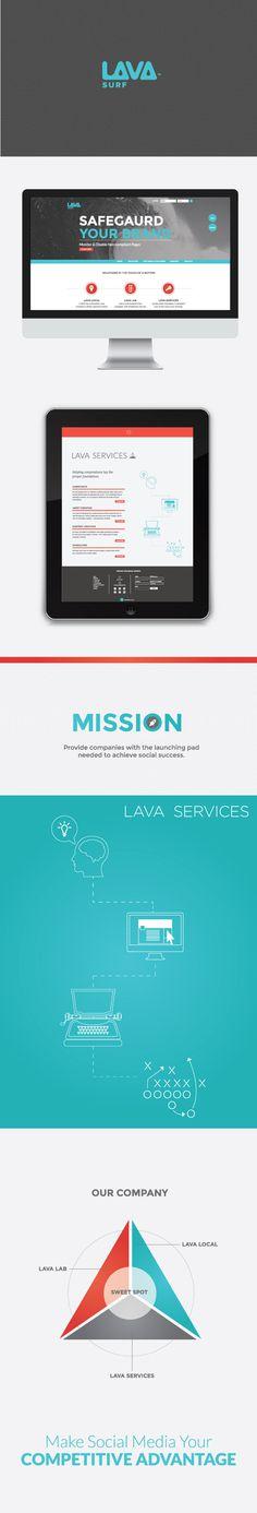 lavasurf #ux #design #ui #lavasurf #web
