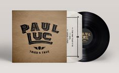 PAUL LUC - HASSINGER CR8TIVE #record #vinyl #album #logo