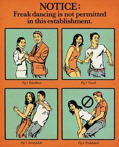 Freak Dancing is NOT Permitted by Eric Larsen on Behance #eric #freak #larsen #dancing
