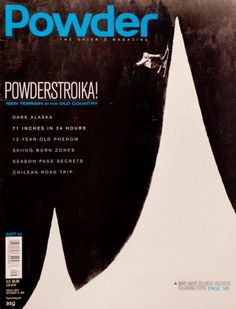 Evan Wakelin's drawings and stuff #graphic #cover #logo #powder #magazine