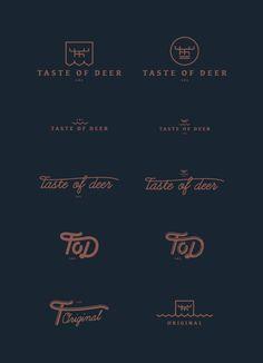 Taste of Deer #mark #deer #logo #taste #tod