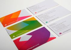 Saffron Brand Consultants » Octopus Travel #business #cards #branding
