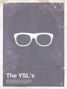 Sara Lindholm - alexandrinelambert: (via myriam b maguire /... #ysl #poster