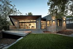 Angular Roof Design Shaping a Stylish Family Home #architecture