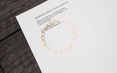 Montero #stamp #anagrama #branding #montero #identity #detail #foil #typography