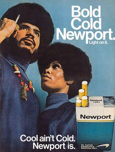 Vintage Newport cigarettes ad #vintage #ad #advertising