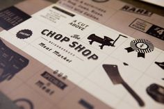 Leonel Toribio - Blog - Honest Don's and The Chop Shop #branding #market #shop #print #brown #chop #paper