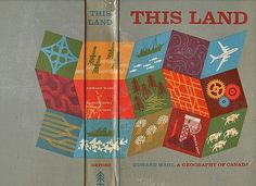 FFFFOUND! | This Land book cover on Flickr - Photo Sharing! #canada #this #land #book #geometric #cover #illustration #atlas #geography