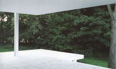 on something, onsomething Mies van der Rohe | Farnsworth House #green