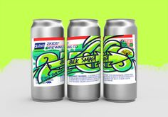 2Kids Brewing graffiti beer can