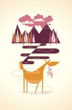 design work life » cataloging inspiration daily #illustration #screenprint
