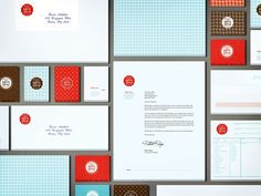 Baked Ideas on the Behance Network #vintage #logo #branding #identity #packaging #book #website #red #web #form