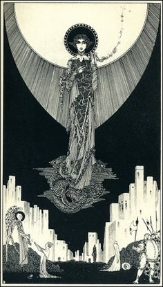 The Underdark Gazette: The Art of Harry Clarke #harry #illustration #clarke