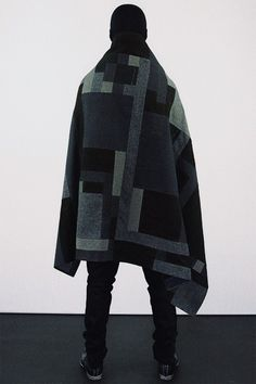 OTAKU GANGSTA #geometric #square #glitch #fashion #cloak