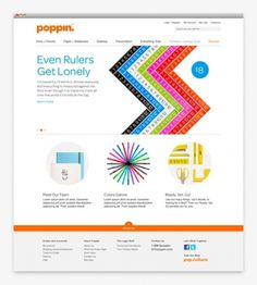 design work life » cataloging inspiration daily #color #web #design