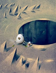 Dan Matutina's Activity - Society6 #astronaut #space #spaceship #illustration #moon