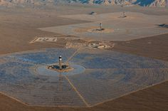 world's largest solar thermal power project at ivanpah achieves commercial operation #solar