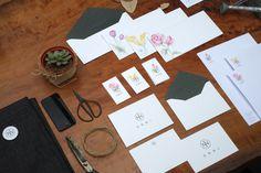 ONNI Flower Market on Behance #branding #lifestyle #design #illustration #flowershop #flower