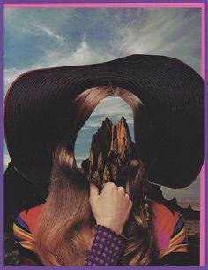 "Saatchi Art Artist Eva Lake; Collage, ""Anonymous Woman No. 74"" #art"