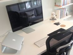 Design Workspace by Adham Dannaway #office #design #home #desk #workspace