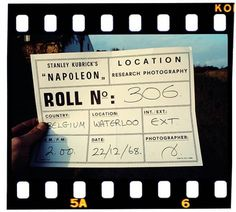 Flavorwire » Hypotheticals: Kubrick's 'Napoleon' #frame #kubrick #napoleon #research #photography