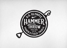 Nike Olympic Hammer Throw CommonerInc #logo