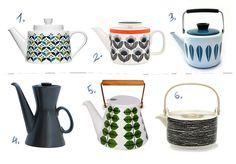design attractor: Teapots Old #midcentury