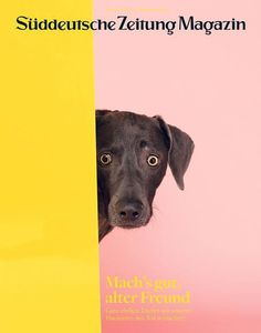 Suddeutsche Zeitung Magazin (Germany) #cover #magazine #dog