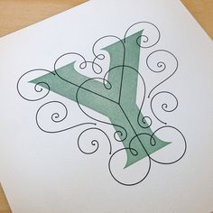 View image 1 #print #typography #letterpress #lettering #jessica hische
