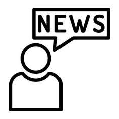 See more icon inspiration related to journalist, news, professions and jobs, chat bubble, news report, female journalist, journalism, news reporter, reporter, communications, user and person on Flaticon.