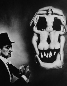 – The Greatest Hits – #dali #women #skull