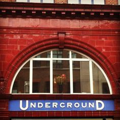 insta jo #underground #london #covent #garden #typography