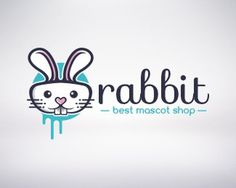 30 Funny Rabbit Logo for Inspiration #logo #rabbit #identitiy