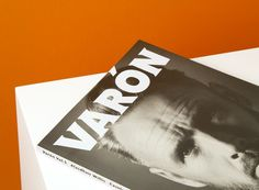Varón #design #graphic #editorial #magazine