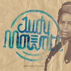 Judy Mowatt #reggae #jamaica #typography #branding