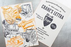 Lettra OK Paper Promotional by Workhorse Printmakers #print #design #graphic
