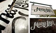 Mama Joy's on the Behance Network #logo #branding