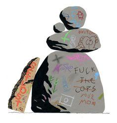 Tim Lahan | PICDIT #design #shape #poster #art #painting #collage