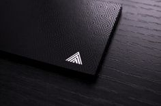 Armarion #print #business cards #business card #screenprint #luxury #black paper #uv