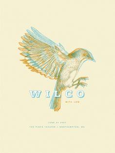 1291531260299641.jpg 451×600 pixels #wilco #poster #bird