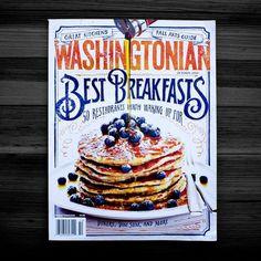 Washingtonian cover by Jon Contino #cover #editorial #magazine #breakfast