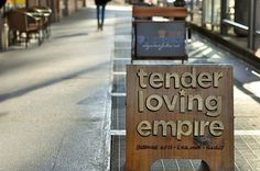 Google Reader (1000+) #sign #wood #handmade #typography