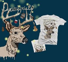 HOPE LITTLE ILLUSTRATION + DESIGN #illustration #vector #deer #decemberists