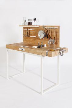 chopchop dirk biotto #interior #counter #wood #kitchen #industrial