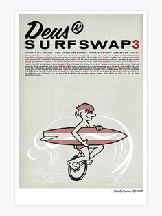 surf-swap-3.jpg 750×1,000 pixels #surf #illustration #poster